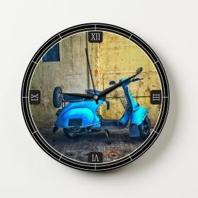 Ejoya Manzaralı Dekoratif Duvar Saati 86565