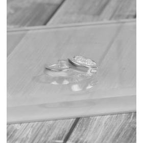 eJOYA Halka Gümüş Küpe 86882