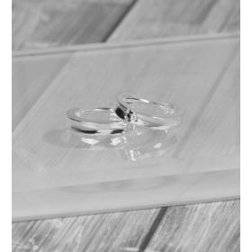 eJOYA Halka Gümüş Küpe 86883