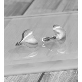 eJOYA Kalp Gümüş Küpe 86891