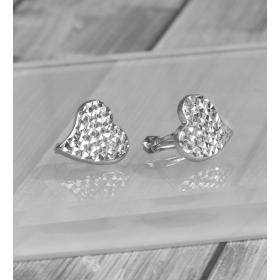 eJOYA Kalp Gümüş Küpe 86897