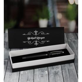 eJOYA Kişiye Özel Siyah Rubber Roller Kalem 87012