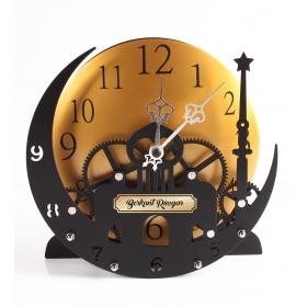 Kişiye Özel Üç Boyutlu Masa Saati 87237