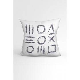 eJOYA One Özel Tasarımlı Modern Dekoratif Yastık Kırlent Kılıfı 88388