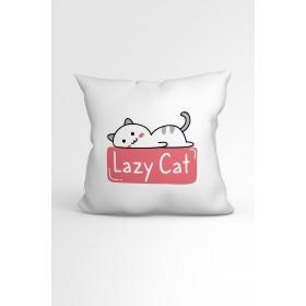 eJOYA Lazy Cat Özel Tasarımlı Modern Dekoratif Yastık Kırlent Kılıfı 88426