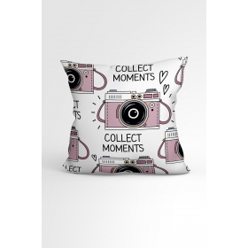 eJOYA Fotoğraf Özel Tasarımlı Modern Dekoratif Yastık Kırlent Kılıfı 88439