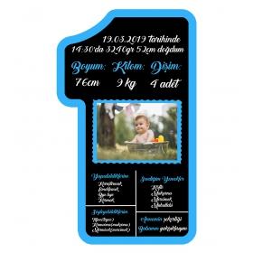 eJOYA 1 Yaş Doğum Günü Anı Panosu 88757