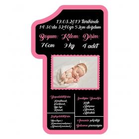 eJOYA 1 Yaş Doğum Günü Anı Panosu 88758