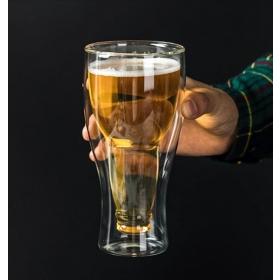 eJOYA  Soğuk Tutan Çift Cam Bira Bardağı 89173