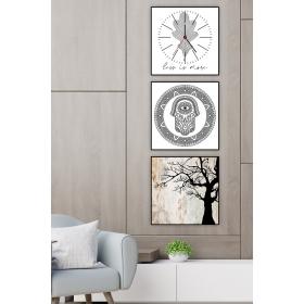 Ejoya Dekoratif Tablo Duvar Saati 89233