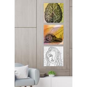 Ejoya Dekoratif Tablo Duvar Saati 89352