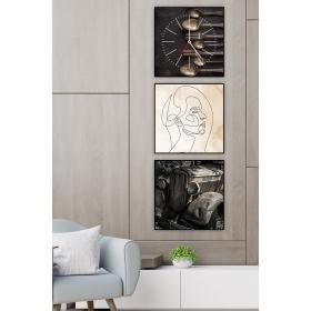 Ejoya Dekoratif Tablo Duvar Saati 89361