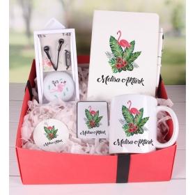 eJOYA Kişiye Özel Flamingo Hediye Paketi 89825