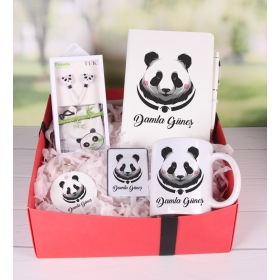 eJOYA Kişiye Özel Şirin Panda Hediye Paketi 89827