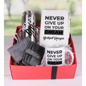 eJOYA Kişiye Özel Never Give Up Hediye Paketi 89841