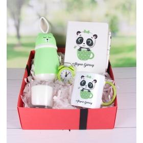 eJOYA Kişiye Özel Yeşil Şirin Kedi Hediye Paketi 89841