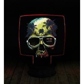 eJOYA Modern Desenli 3 Boyutlu 3D Led Gece Lambası 90266
