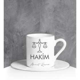 eJOYA Kişiye Özel Hakim Türk Kahvesi Fincanı 90697