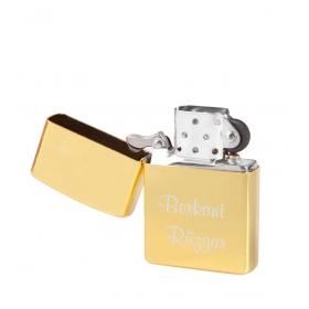 eJOYA Kişiye Özel Benzinli Çakmak Gold 90750