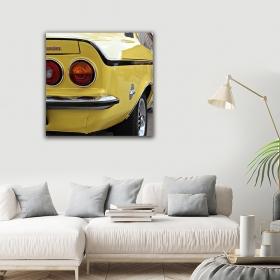 eJOYA Modern Tasarım Araba Kanvas Tablo 50 x 60 cm 91039