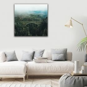 eJOYA Modern Tasarım Köprü Kanvas Tablo 50 x 60 cm 91042