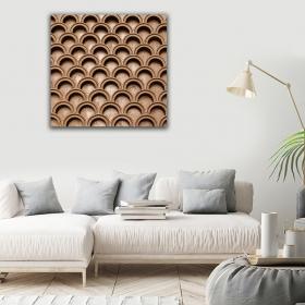 eJOYA Modern Tasarım Örgü Kanvas Tablo 50 x 60 cm 91067