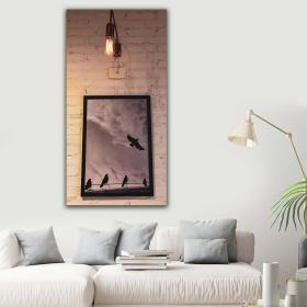 eJOYA Modern Tasarım Kuşlar Kanvas Tablo 60 x 120 cm 91145