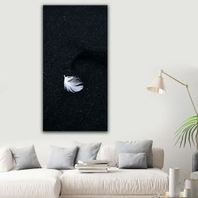 eJOYA Modern Tasarım Tüy Kanvas Tablo 60 x 120 cm 91187