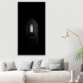 eJOYA Modern Tasarım Karanlık Kanvas Tablo 60 x 120 cm 91217