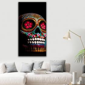 eJOYA Modern Tasarım Skull Kanvas Tablo 60 x 120 cm 91277