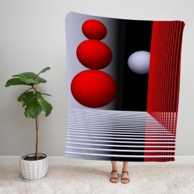 eJOYA Modern Desenli Polar TV Battaniyesi 92040