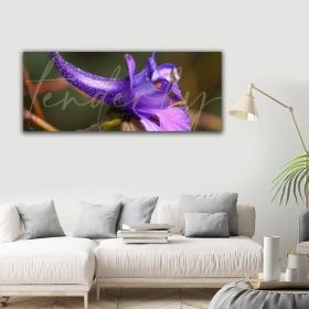 Ejoya Çiçek Yatay Kanvas Tablo 40 x 100 cm 93205