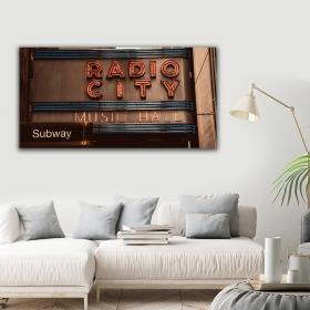 Ejoya Tabela Kanvas Tablo 120 x 60 cm 93497