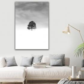 Ejoya Karlı Kanvas Tablo 150 x 100 cm 93722