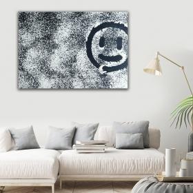 Ejoya Gülen Yüz Kanvas Tablo 150 x 100 cm 93764
