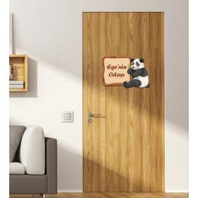 Ejoya Kişiye Özel Odası Ayılı Kapı Süsü 93923