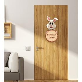 Ejoya Kişiye Özel Odası Tavşanlı Kapı Süsü 93924