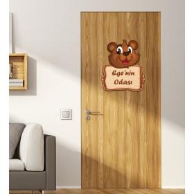 Ejoya Kişiye Özel Odası Sincap Kapı Süsü 93925