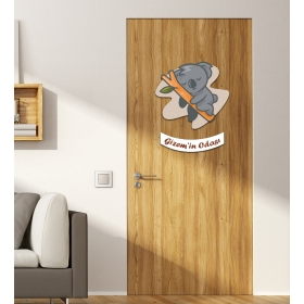 Ejoya Kişiye Özel Odası Koala Kapı Süsü 93929