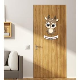 Ejoya Kişiye Özel Odası Geyik Kapı Süsü 93930