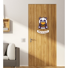 Ejoya Kişiye Özel Odası Panda Kapı Süsü 93937