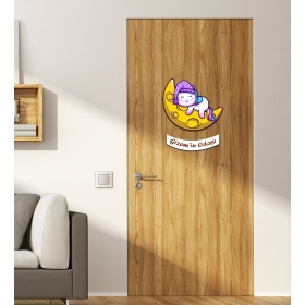 Ejoya Kişiye Özel Odası Aydede Kedi Kapı Süsü 93938