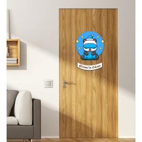 Ejoya Kişiye Özel Odası Panda Kapı Süsü 93940