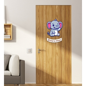 Ejoya Kişiye Özel Odası Filli Kapı Süsü 93941
