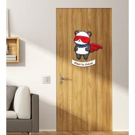 Ejoya Kişiye Özel Odası Panda Kapı Süsü 93942