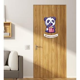 Ejoya Kişiye Özel Odası Panda Mısır Kapı Süsü 93947