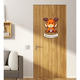 Ejoya Kişiye Özel Odası Geyik Kapı Süsü 93948
