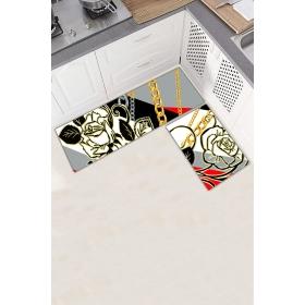 Ejoya Modern Tasarımlı Mutfaklara Özel Paspas 94006