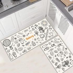 Ejoya Modern Tasarımlı Mutfaklara Özel Paspas 94030