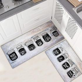 Ejoya Modern Tasarımlı Mutfaklara Özel Paspas 94036